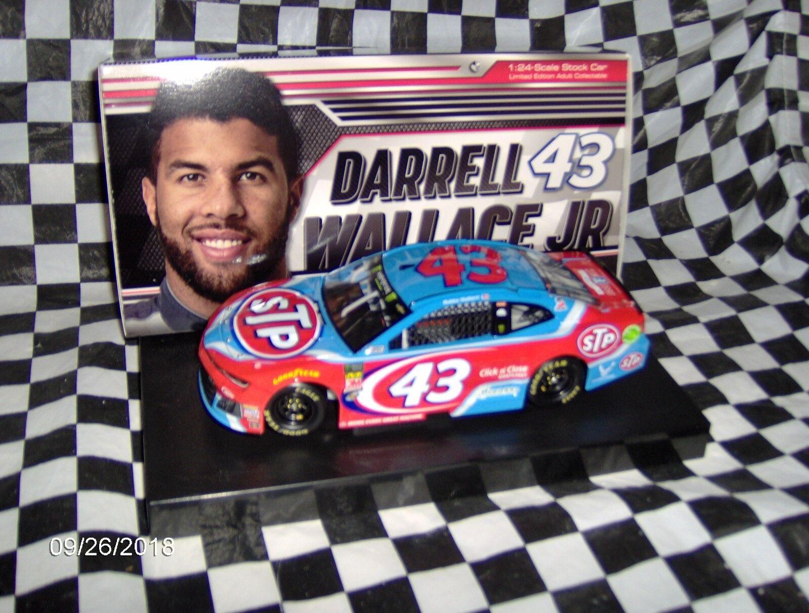 2018 Lionel Darrell  Bubba  Wallace Jr.   43 STP 1/24 th.