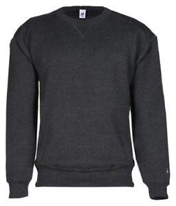 eaa4bfc3bee7 Badger Sportswear Men s Long Sleeve Twill Taped Crewneck Sweatshirt ...