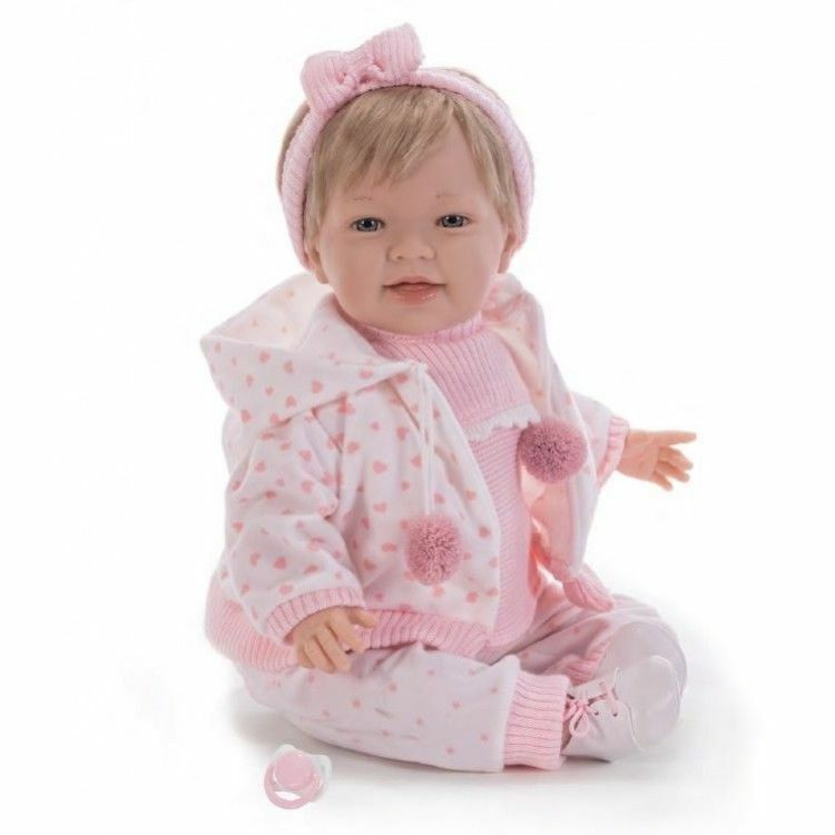 ROOTED SUITABLE FOR 3 YRS & UP SPANISH NINES D` ONIL BABY GIRL DOLL, NOT REBORN