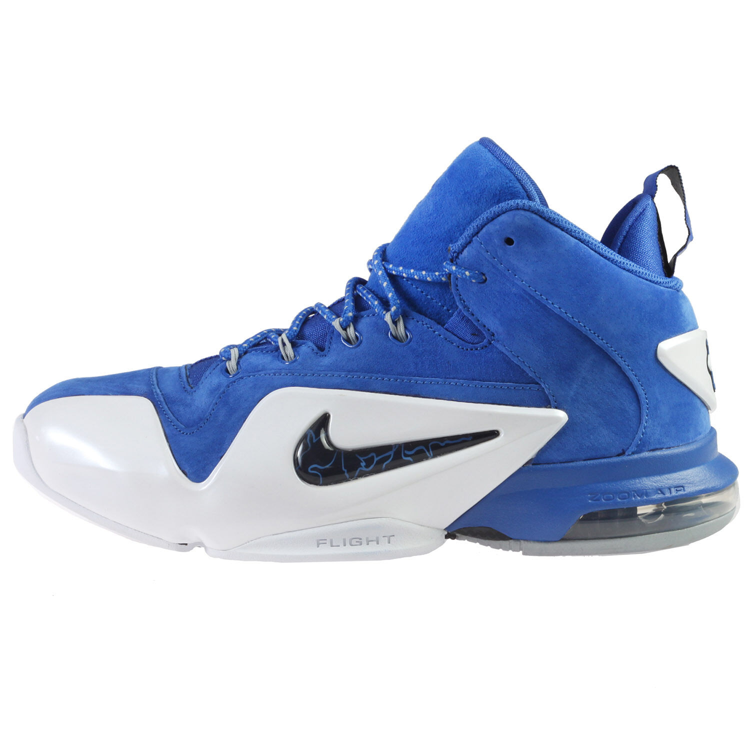 Nike Zoom Penny VI Mens 749629-401 Game Royal Suede Basketball schuhe Größe 9