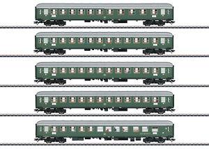 Marklin-h0-43935-schnellzugwagen-set-1-034-d96-Isar-Rhone-034-insidermodell-nuevo-embalaje-original