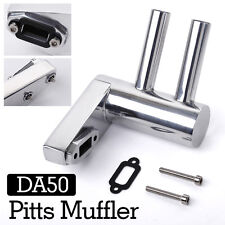 Pitts Muffler Exhaust Pipe for DA50/DLE50/DLE55 GP50R Engine RC Airplane