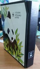 WWF - Raccoglitore Con Collezione Avanzata Di Buste E Francobolli Dal 1983-1990