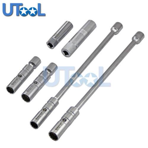 14 ou 16 mm magnétique paroi mince Joint Universel Spark Plug Socket Removal Tool