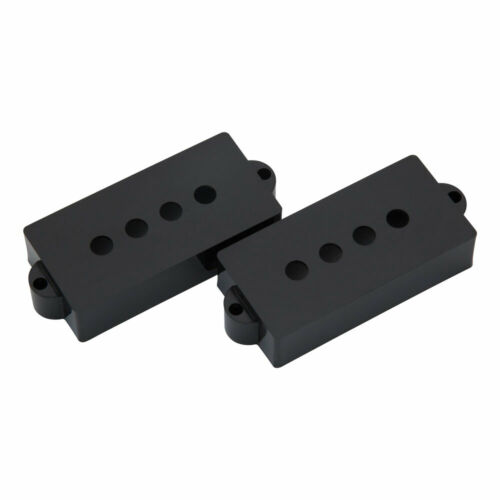 Hosco P Bass Pickup Covers Fender Style Black
