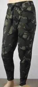 Polo-Ralph-Lauren-Green-Camouflage-Camo-Fleece-Sweatpants-NWT