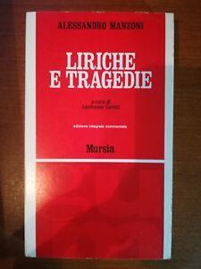 Liriche-e-tragedie-Alessandro-Manzoni-1967-Mursia-M