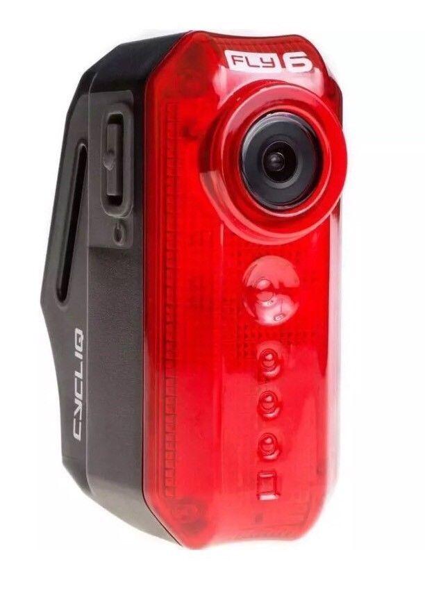 Fly6[v] HD Rear bicicletta telecamera e 30 Luuomini Tail light @