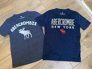 ABERCROMBIE-Boys-T-Shirts-X2-Age-5-6-Yrs