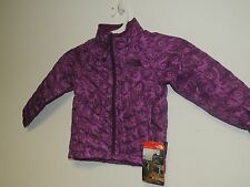 North Face Toddler girl THERMOBALL FULL ZIP Jcket in sweet violet nautilus NWT