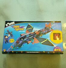 NEW VINTAGE 1999 K NEX SONIC FIGHTERS 275 PIECES BUILDING SYSTEM