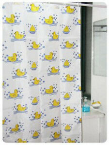 Lovely Duckling Shower Curtain Polyester 180cm x180cm