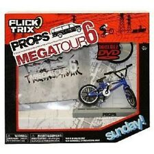 Flick Trix Props Megatour 6 Sunday Blue /w DVD, NEW by Spin Master