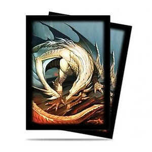 50ct-Dragon-Art-Deck-Protector-Sleeves-Pokemon-MTG-Sports-66-x-91mm-Ultra-Pro