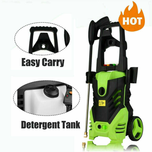 Details about  /3800PSI 2.8GPM Electric Pressure Washer Powerful Cold Water Cleaner B 100