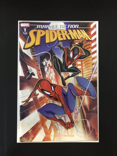 Marvel Comics Marvel Action Spider-Man #1 Fico Ossio Cover VF//NM 2019