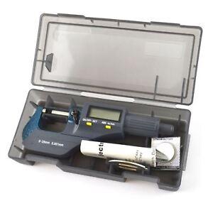 Digital Micromètre 0 - 25 Mm Externe Mécaniciens Ingénieurs Measuring Electronic-afficher Le Titre D'origine Ntumdbz4-07183048-331284467
