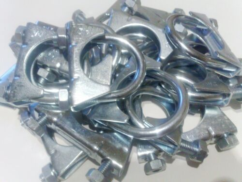 1 Sortiment 15 Stück M10 Auspuffschellen Bügelschelle M10 48-50-52mm  S10485215