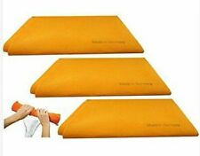 Original Orange Super Absorbent German Shammy Cloths 20 X 27 (3 Pack)