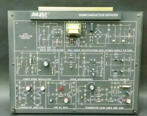 Lab Volt 91005 20 Semiconductor Devices Board New With Workbook Ebay