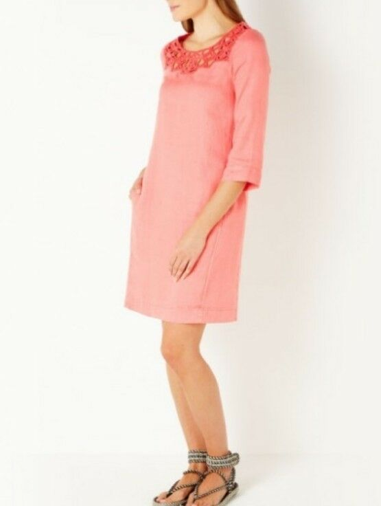 Sandwich Clothing Woven Dress SPICED CORAL Größe 36 (UK 10)