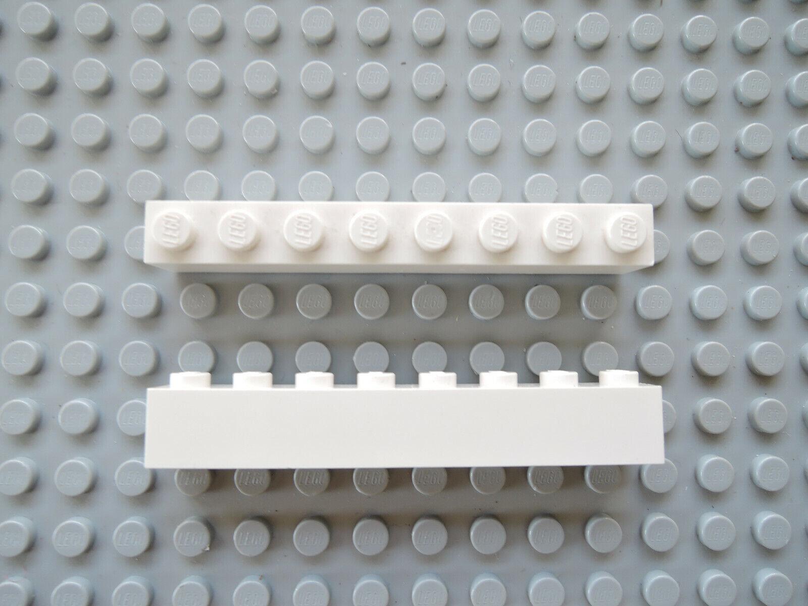 LEGO 10 x Stein Basic Baustein hoch 3010 1x4  rot