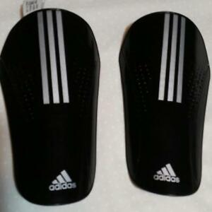 Image is loading ADIDAS-11-LESTO-BLACK-SILVER-SOCCER-SHIN-GUARDS- 6d73ed8869641
