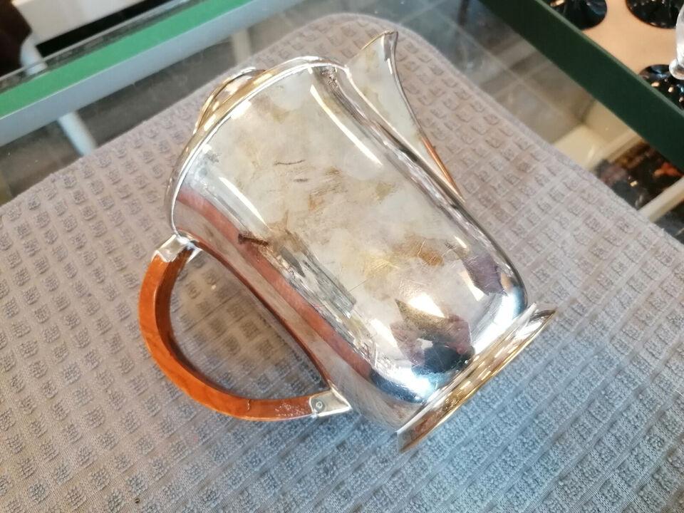 Charmerende sølvplet kande