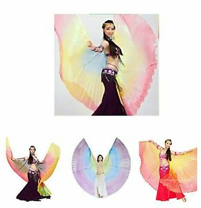 Isis Wings Indian Egyptian Belly Dance Costume Cosplay Parade Angel Isis Wings