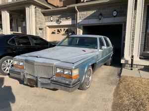 1987 Cadillac Brougham Fleetwood