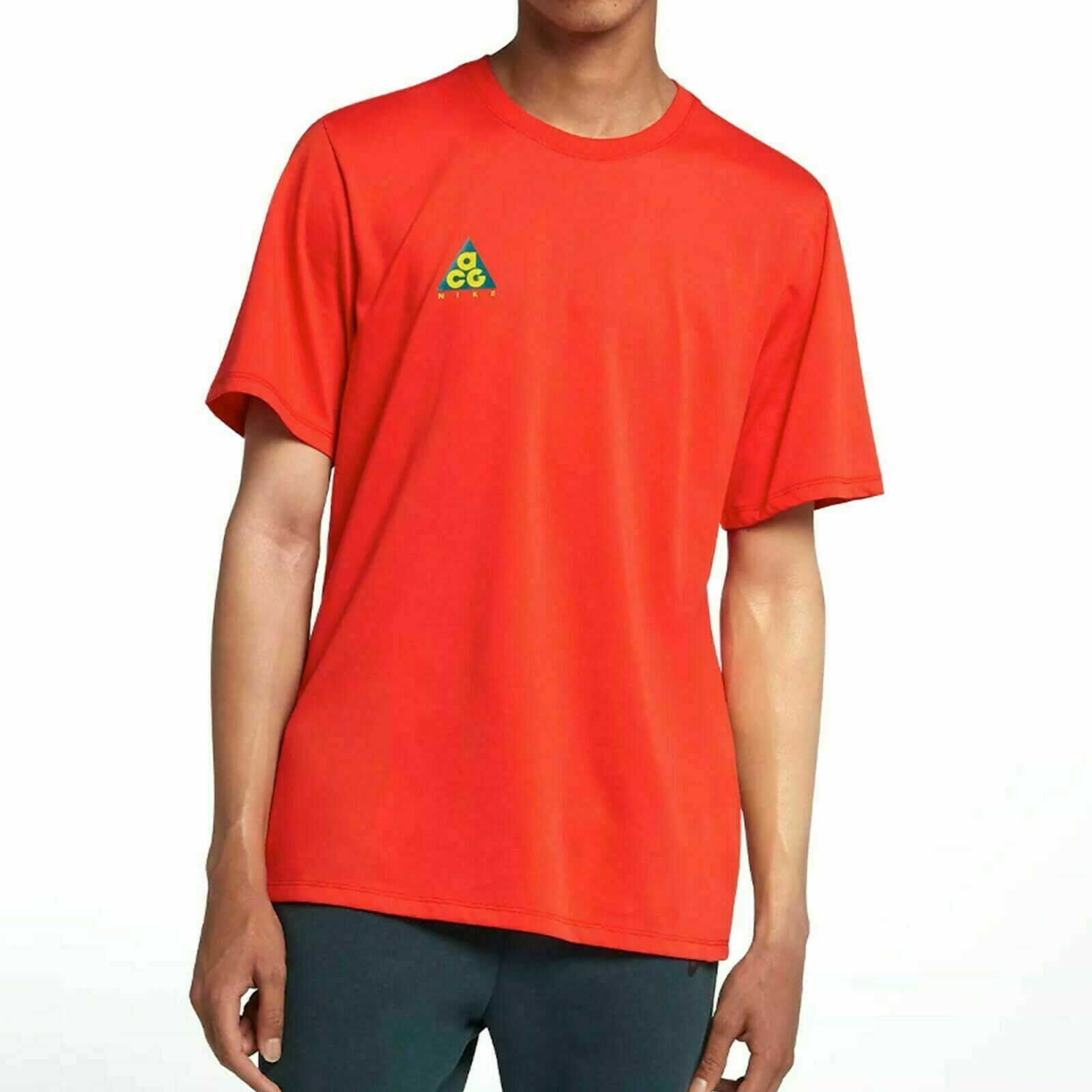 """Nike ACG /""""We Out There/"""" Tee Cream T-Shirt AQ3951-258 Size M L"""