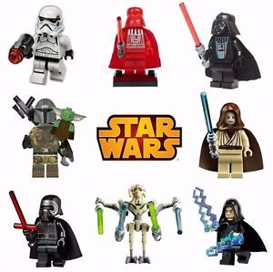 CUSTOM LEGO STAR WARS VADER MINI FIGURES BUNDLE UK MARVEL AVENGERS MINIFIGURES