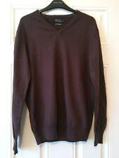 XL 8 colours cotton /& cashmere Jeff Banks Designer V Neck Jumper Small