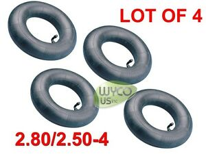 LOT 4, HEAVY DUTY INNER TUBES, 2.80/2.50-4, 2.80X2.50-4, LAWNMOWERS, WAGONS