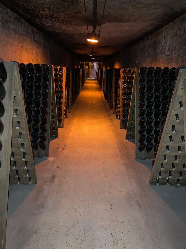 Ægte franske pupitre - champagne- vinreol