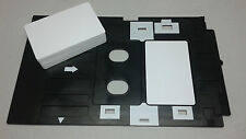 Plastic PVC ID card 10 + Inkjet tray for Epson compatible R270 R285 artisan 50