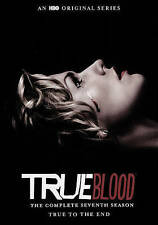 True Blood The Complete Seventh 7th  Seasson (DVD, 2015, 4-Disc Set) New