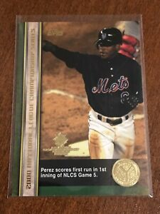 2000-World-Series-Topps-Baseball-Base-Card-65-Timo-Perez-New-York-Mets