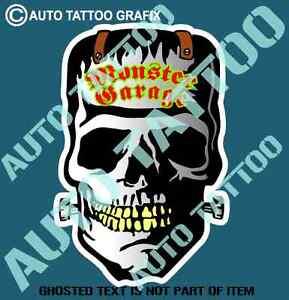 Image Is Loading MONSTER GARAGE DRAG DECAL STICKER VINTAGE AMERICANA HOT