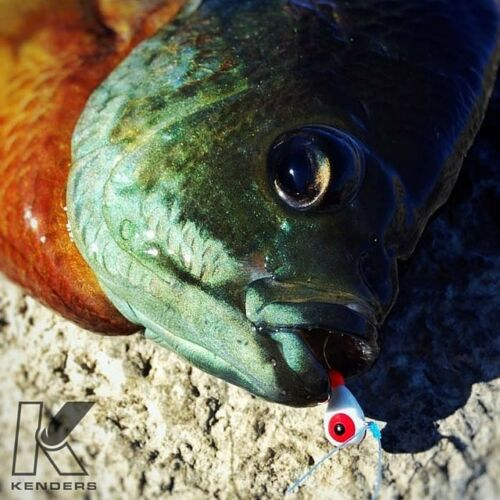 #14 Hook Glow Jigs Panfish Jigs Assortment Ice Fishing Jigs Tungsten 4mm