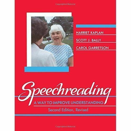 1 of 1 - Speechreading: A Way To Improve Understanding-ExLibrary