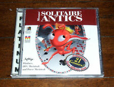 CD: Masque Solitaire Antics 21 GAMES; Windows Macintosh DOS SoftKey Royal Family