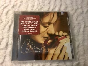 These-are-Special-Times-Celine-Dion-CD-2001-Christmas-Andrea-Bocelli-Diana-Krall