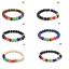 Seven-Chakra-Energy-Bracelet-Crystal-Stones-Bead-Meditation-Jewellery-UK miniatura 1