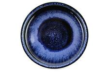 A Carl Harry Stalhane bowl for Rorstrand Blue & black glaze Swedish art pottery