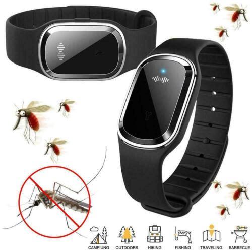 Mückenschutz Armband Ultraschall Insekt Pest Repeller Armband B7J4