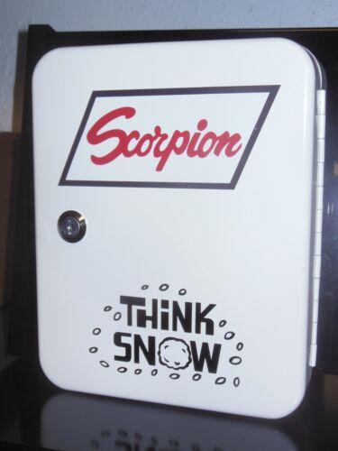 VINTAGE SCORPION SNOWMOBILE 1960 ERA DEALERSHIP SERVICE COUNTER 48 PLACE KEYBOX