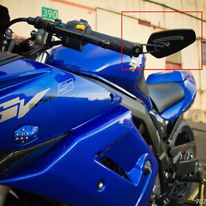 "Motorcycle Bikes 7/8"" Handle Bar End Mirrors For Suzuki SV650S / Kawasaki Z650"