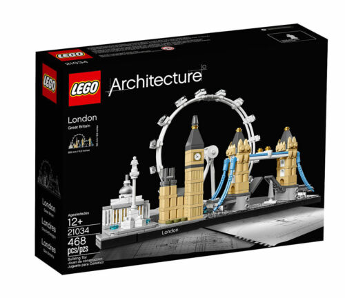 1 of 1 - NEW LEGO Architecture 21034 London from Purple Turtle Toys