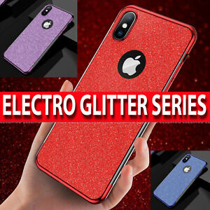 Custodia-per-iPhone-XR-XS-MAX-XS-ULTRA-Slim-Lusso-Brillantini-Cover-in-silicone-antiurto